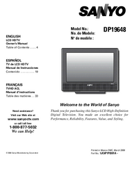 Sanyo-5017-Manual-Page-1-Picture