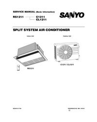 Manuale di servizio Sanyo C1211