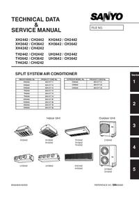 Manuale di servizio Sanyo CH2442