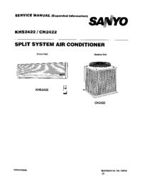 Manual de serviço Sanyo CH 2422