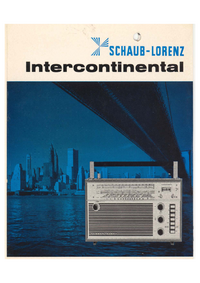 Service Manual Schaublorenz Intercontinental
