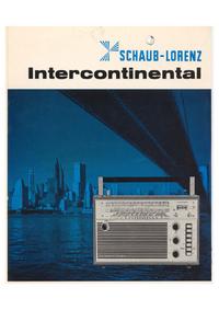 Serviceanleitung Schaublorenz Intercontinental