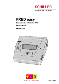 Service Manual Schiller FRED Easy