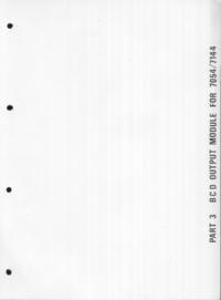 manuel de réparation Schlumberger 7144