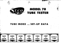 User Manual Seco 78