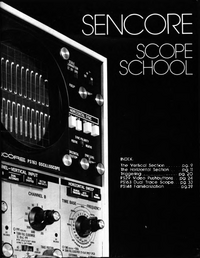 Libro Sencore Scope School