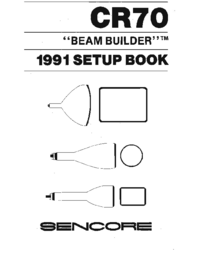User Manual Sencore CR70