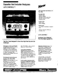 Datenblatt Sencore LC75