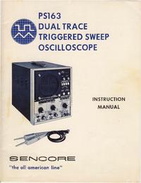 Manual del usuario Sencore PS163