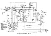 Schaltplan Sencore UPS164