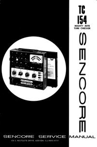 Manual de servicio Sencore TC154