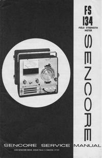 Instrukcja serwisowa Sencore FS134