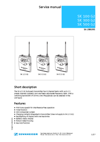 Sennheiser-9806-Manual-Page-1-Picture