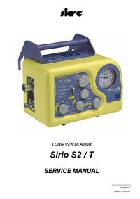 Service Manual Siare Sirio S2 / T