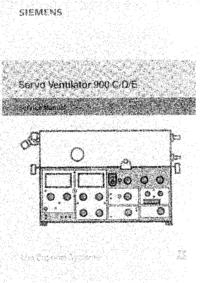 Serviceanleitung Siemens 900 E