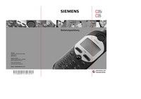 User Manual Siemens C35i