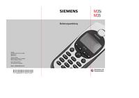 Руководство пользователя Siemens M35i