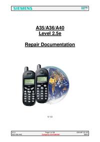 Servicehandboek Siemens A36