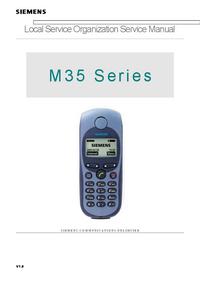 Manuale di servizio Siemens M 35