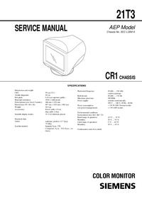 Manuale di servizio Siemens CR1