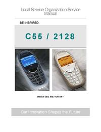 Manual de servicio Siemens C55 /2128