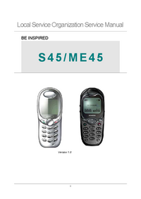 Servicehandboek Siemens S45
