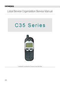 Manual de servicio Siemens C35
