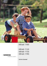 Instrukcja serwisowa Siemens HiPath 1150