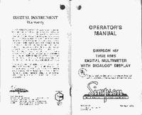 Manuel de l'utilisateur Simpson 467