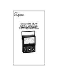 Gebruikershandleiding Simpson 260-6XLPM
