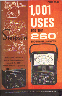 Manual del usuario Simpson 260