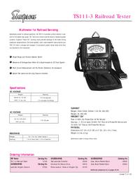 Dane techniczne Simpson TS111-3