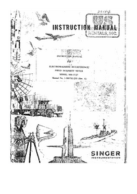 Serwis i User Manual SingerInstrumentation NM-17