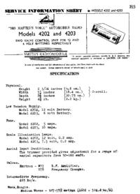 Serviceanleitung SmithRadioMobile 4203