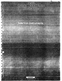 Solartron-3672-Manual-Page-1-Picture