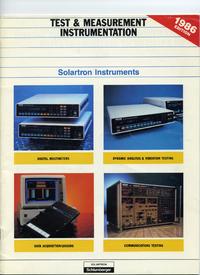 Katalog Solartron xxxxx