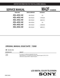 Manual de serviço Sony MA2F