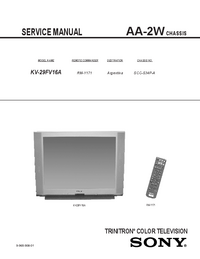 Service Manual Sony AA-2W