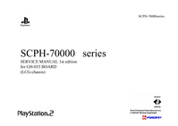 Serviceanleitung Sony Playstation 2 SCPH-70000 Series