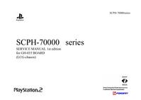 Servicehandboek Sony Playstation 2 SCPH-70000 Series