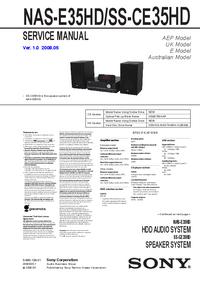 Service Manual Sony NAS-E35HD