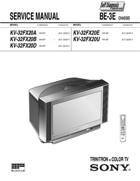 Service Manual Sony BE-3E