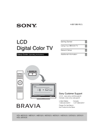Service Manual Sony KDL-46EX523