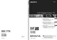 User Manual Sony KDL-40U2000