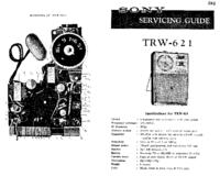 Service Manual Sony TRW-621