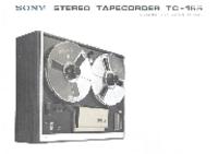 Servicio y Manual del usuario Sony TC-155