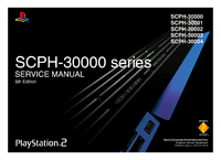 Manual de servicio Sony Playstation 2 SCPH-30001