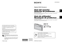 User Manual Sony DSC-T5
