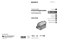User Manual Sony DCR-HC90