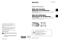 User Manual Sony DSC-P200